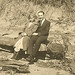 Ayleen Hartzell Shenk and John Henry Shenk dating in the1920s