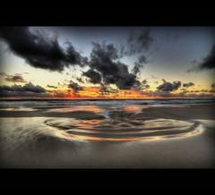 MINDARI GOLDEN SANDY BEACH - SUNSET (Wiffsmiff23) Tags: sunset sea beach clouds coast sand wa swirl westernaustralia 5photosaday flickrsbest mindari sandpool abigfave platinumphoto anawesomeshot impressedbeauty theunforgettablepictures goldstaraward babyvelbon