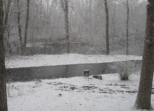 Begining to Snow