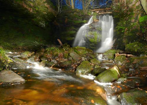 Fairlie glen bridge waterfall 29Nov08