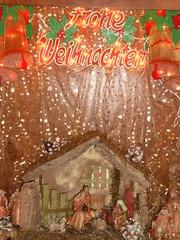 Frohe Weihnachten Crib Nuremburg Dec 2008 (symonmreynolds) Tags: germany deutschland december nuremberg christmasmarket weihnachtsmarkt crib 2008 nürnberg christkindlmarkt froheweihnachten