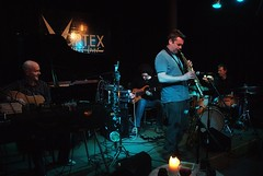 photo of Lawson/Dodds/Wood live at the Vortex by Richard Kaby