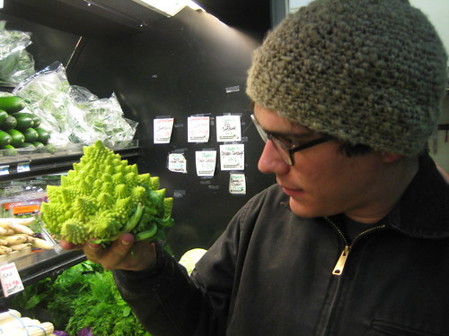Romanesco Cauliflower and Chris Blow
