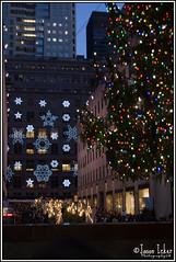 """Snowing"" in Rockefeller Center (Jason.Icker) Tags: christmas new york city nyc snow jason tree nikon jay center angels insanity rockefeller 2008 d40 icker jasonicker jayicker jasonickercom"