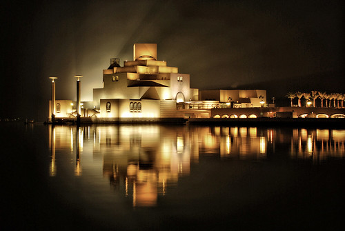 islamic museum , qatar  ..