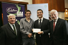 Eddie Delahunt, TCD (Cadbury U-21 Gaelic Football) Tags: cadbury scholarships u21 gaelicfootball