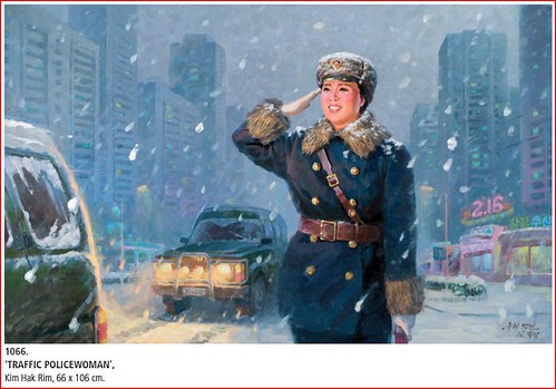 Traffic Policewomen Paintings - Art from North Korea 3285287669_63fde11f27