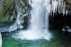 Snowy Waterfall (Slavin@) Tags: winter nature water frozen waterfall falls explore anawesomeshot