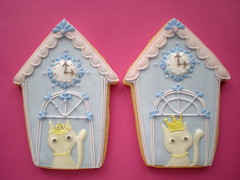 F&M HOUSE COOKIE 1 -BLUE- (rosey sugar) Tags: wedding cake cookie decoration royal celebration icing piping favour sugarcraft