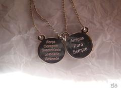 (Pedao de Amor) Tags: amor amizade su colar gargantilha fora sinceridade coragem lealdade amigasparasempre