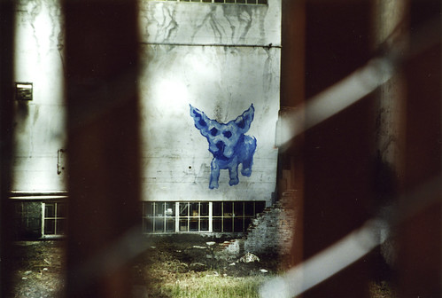 1990s Dog graffiti 8