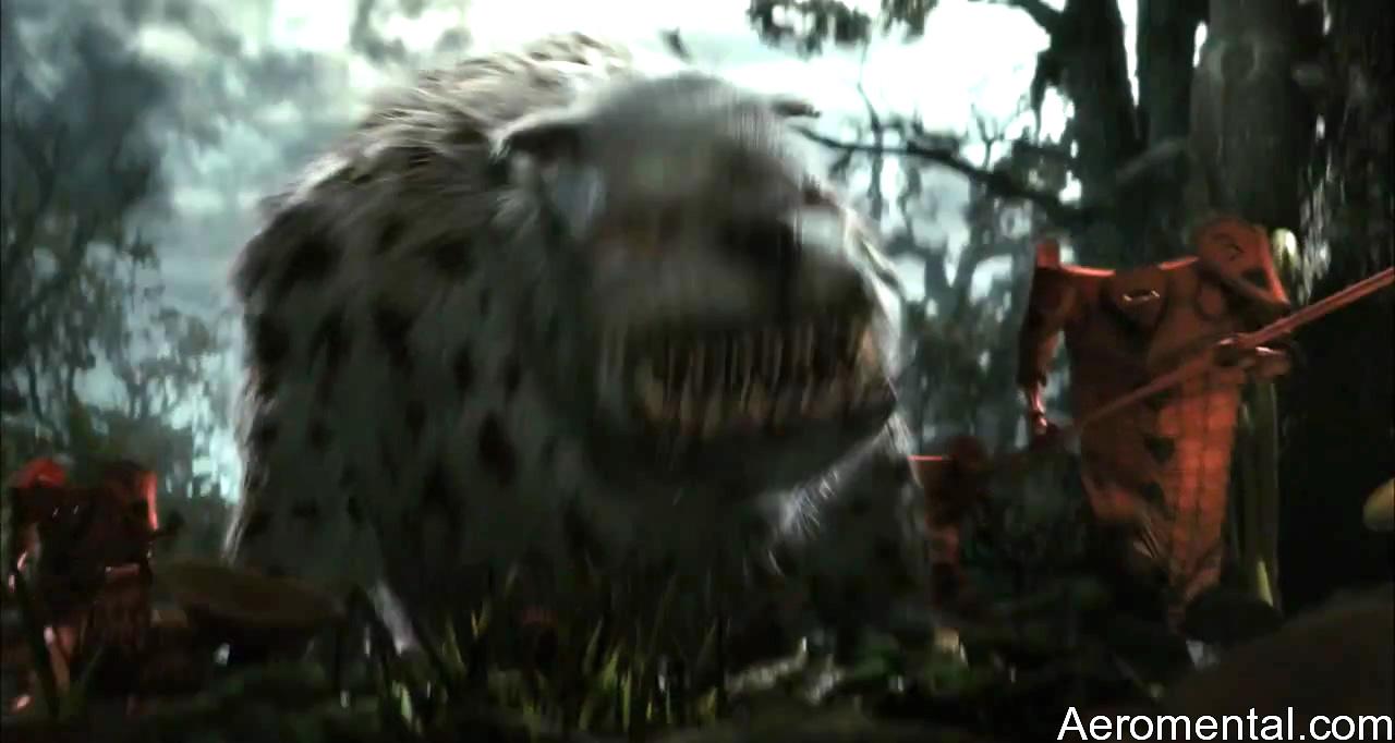 Alicia en el País de las Maravillas HD bestia peluda