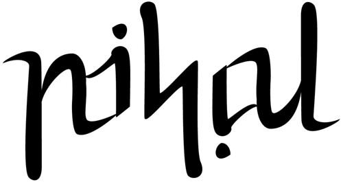 Nihal ambigram