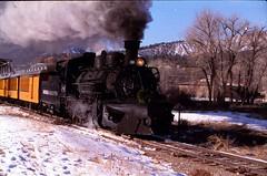 Durango and Silverton #480 Class K-36 (lionel682) Tags: outside blw colorado silverton frame works mikado locomotive 480 gauge narrow durango baldwin 282 k36