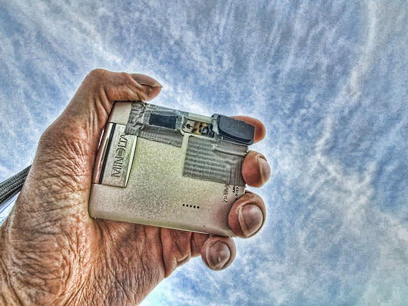 Modded Infrared Camera | Umgebaute Infrarot-Kamera