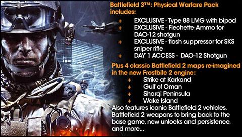 Battlefield 3 Physical Warfare