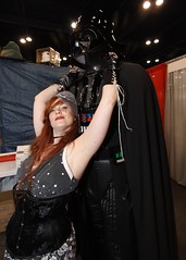 Darth Vader gets all the chicks.... (mlsnp) Tags: game fun star costume downtown comic texas play tx houston gaming gamer darth convention comicbook scifi horror conventioncenter wars spacecity vader cos con grb georgerbrown eventphotography comicpalooza