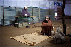 Waiting. Bodhgaya, India (Maciej Dakowicz) Tags: city people india night hospital person waiting asia health wait healthcare ngo bihar bodhgaya