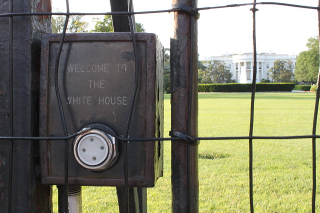 Welcome to The White House buzzer