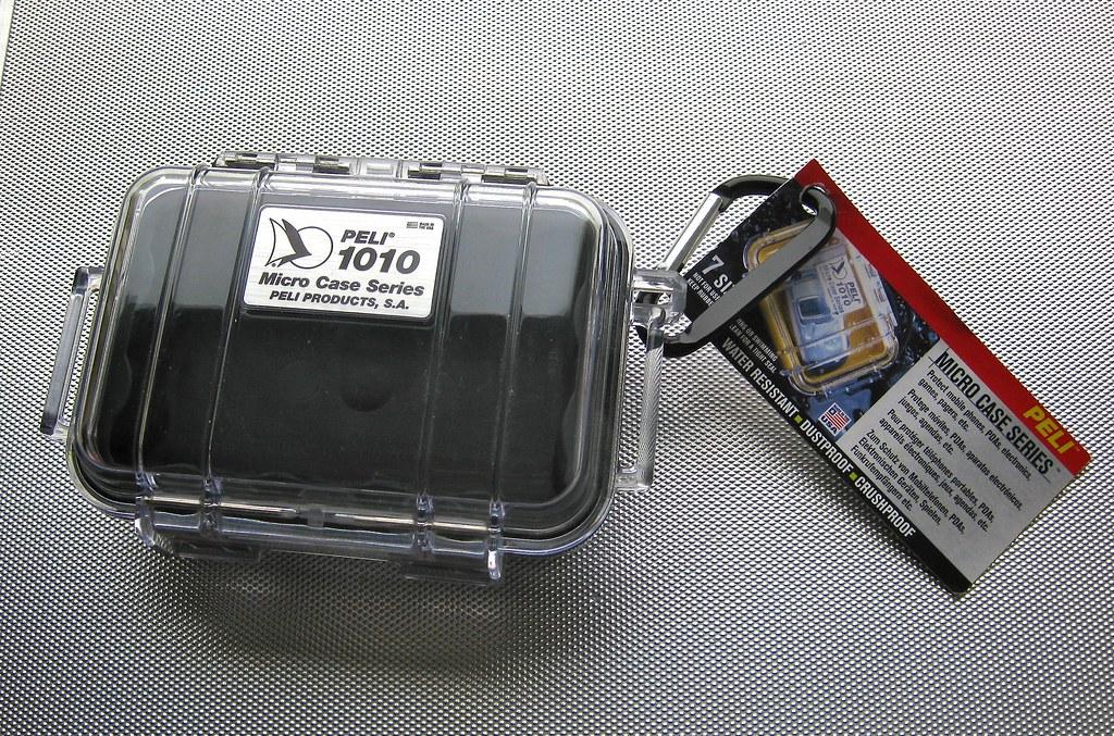 Peli 1010 micro case.