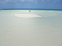 aqua (lorytravelforever) Tags: sea sun man water island alone peace cuba perspective clear solo rays lowtide whitesand clearwater lonelyness isola cayolargo bassamarea piscinenaturali mygearandme naturalpoolman