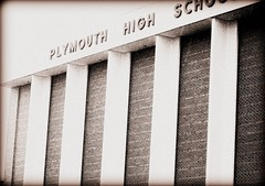Plymouth High School (TeganRae) Tags: old school bricks plymouth historic phs picnik