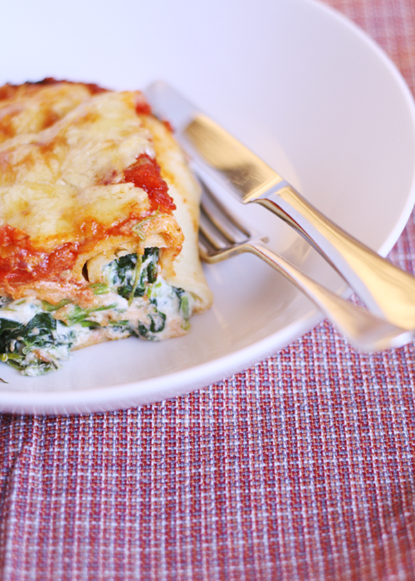 Gluten-Free Cannelloni from the GF Scallywag