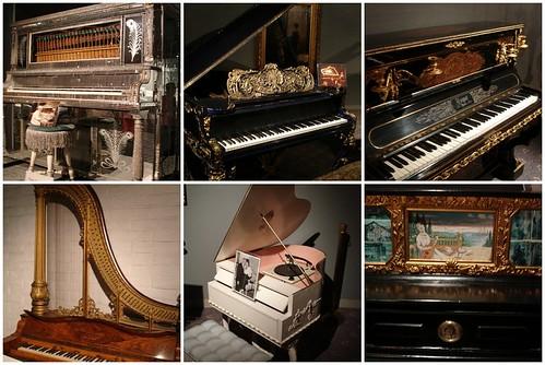 Liberace pianos