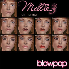Mellie3 Launch makeups-Cinnamon