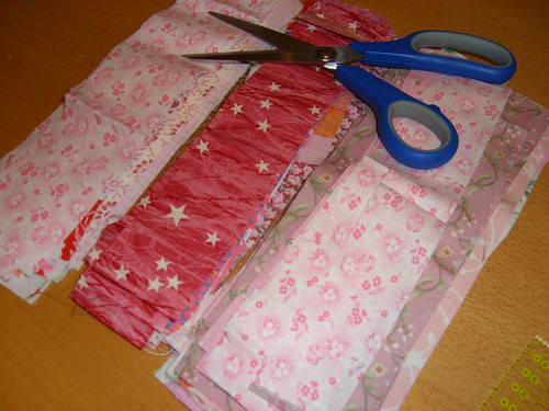 For a pink quilt
