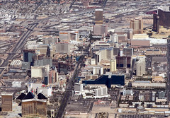 Las Vegas Aerial (rianklong) Tags: street city vegas plane airplane geotagged hotel airport lasvegas nevada aerial casino nv strip aerialphoto hotels casinos mccarran canons3