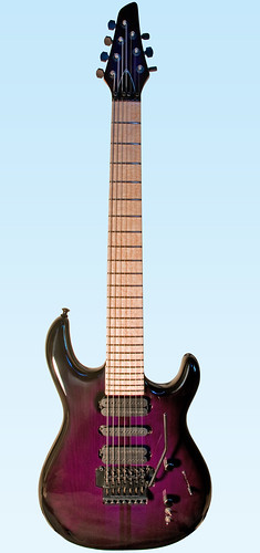 electric photoshop maple nikon purple guitar birdseye d300 carvin 7string dc747 lensdistortion swampash