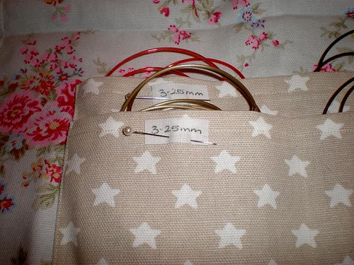 Circular knitting needle case Anna Bright designs