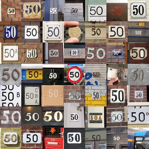 50-50s Collage