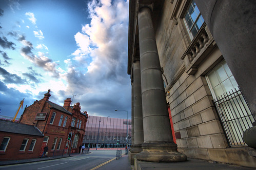 Woodman Arms, Curzon Street and Millenium Point - image by hartlandmartin on flickr