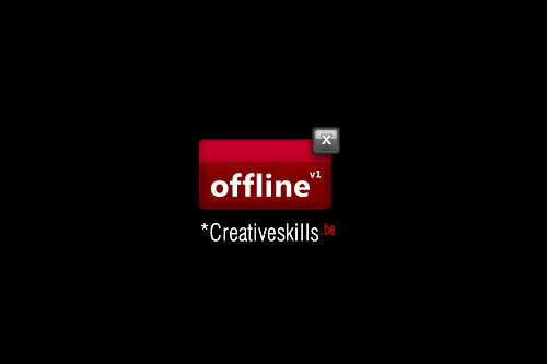 Offline v1 by Creativeskills.be