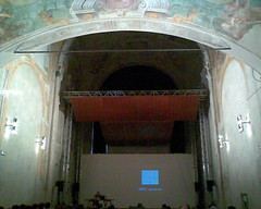 Photo of lecture hall at Casa Paganini
