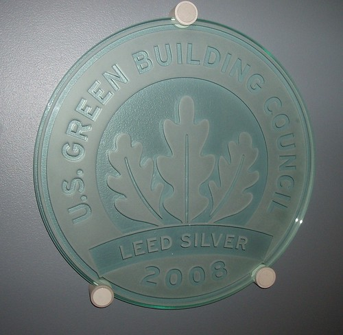 My First LEED Plaque
