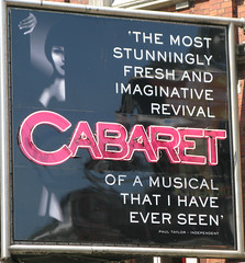Cabaret Shaftesbury Avenue (mike_smith's_flickr) Tags: signs berlin london sign logo image theatre musical photograph signage streetsigns cabaret shaftesburyavenue lyrictheatre bowles 2012 wilkommen pubsign emcee lyric london2012 theatreland londontown visitlondon sallybowles olympiccity mylondon 30sgermany londonsign londongames greatestcityintheworld lifeisacabaret touristlondon alistairmcgowan streetarchitechture cabaretthemusical