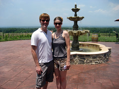 ian and tammy at raffaldini winery