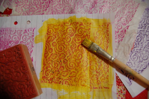 Wax rubbings