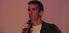 Project 365, Day 165: Dan Savage speaking at Thingamajigger
