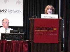 Matt Van Wagner and Jill Whalen SES Toronto