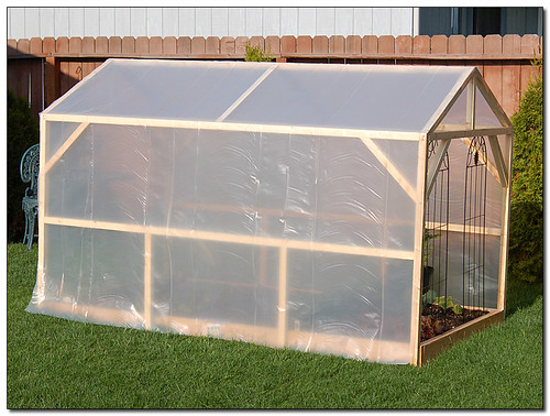 Homemade Greenhouse courtesy of BobButcher on Flickr