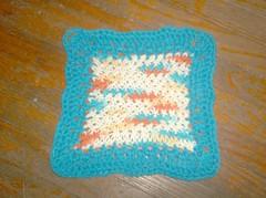Woven Basket Cloth (Alynxia) Tags: knitting crochet kal dishcloths