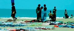 Beach Trading (marek O) Tags: africa people lagos nigeria