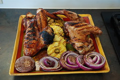 Roasted Turkey Leg Platter