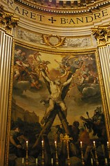 .crucify (d. eivand) Tags: light italy rome roma italia chiesa sanandrea sanandreadellavalle