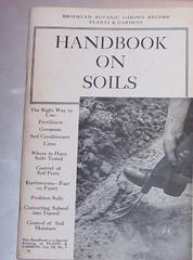 Handbook on Soils (RuTemple) Tags: plants gardens fertilizer lime compost earthworms moisture handbook soils soiltesting brooklynbotanicgardenrecord soilconditioner