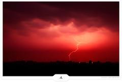 Chasing Bolts (Gert van Duinen) Tags: longexposure nightphotography landscape digitalart thunderstorm lightning landschaft stormclouds landschap thunderbolts electricalstorm lightningbolts luminouslandscape lightningstrikes dutchartist landschaftsaufnahme atmosphericdischarge gertvanduinen